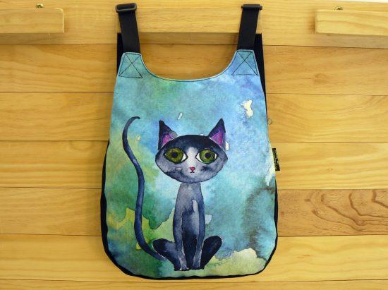 Mochilas dibujo gato