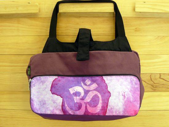 Bolsa Yoga dibujos en tonos morados