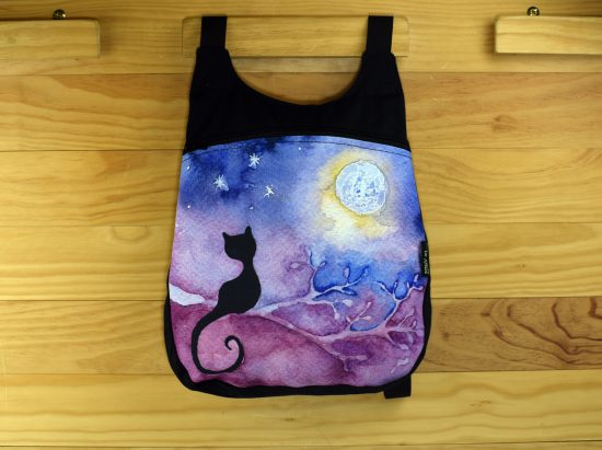 Mochila dibujo de gato