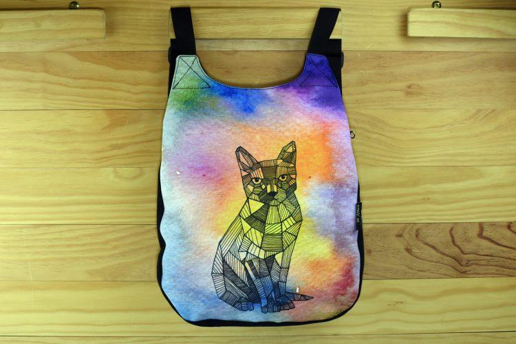 Mochila dibujos gato